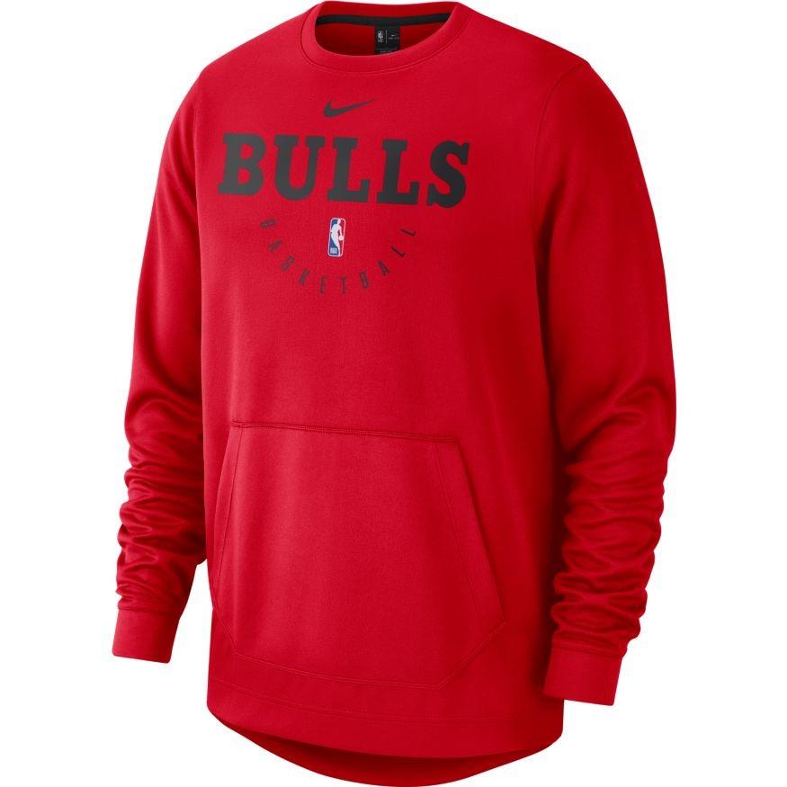 5f355e8d5 Bluza Nike NBA Spotlight Crew Chicago Bulls - 941054-657 - Basketo.pl