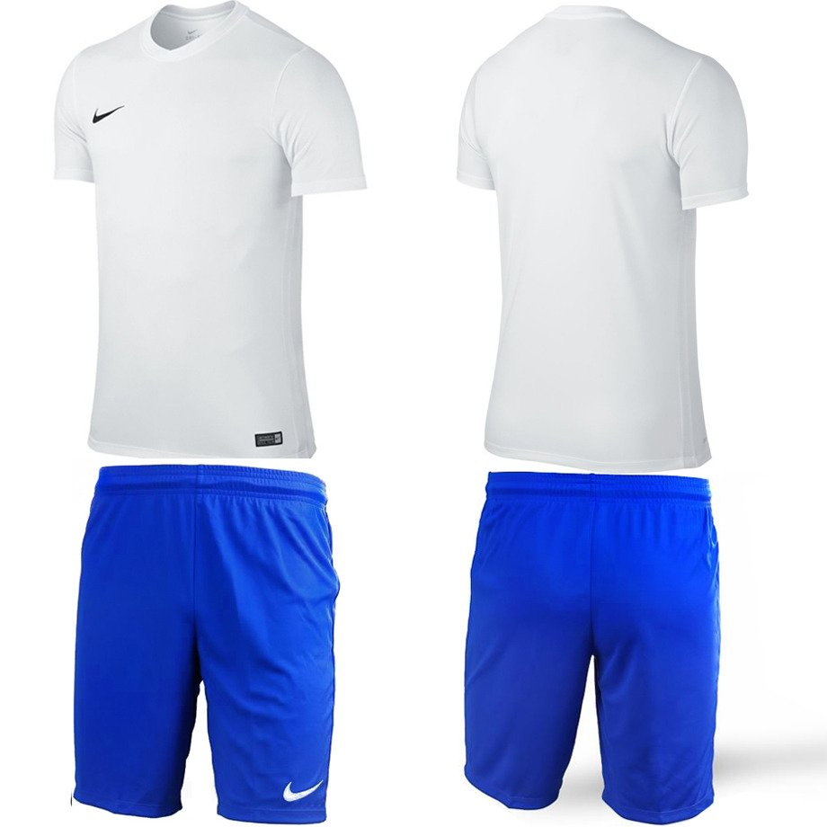 40debad6a ... Koszulka Nike Park VI 725891-100 + Spodenki NIKE PARK II   725887-463  ...