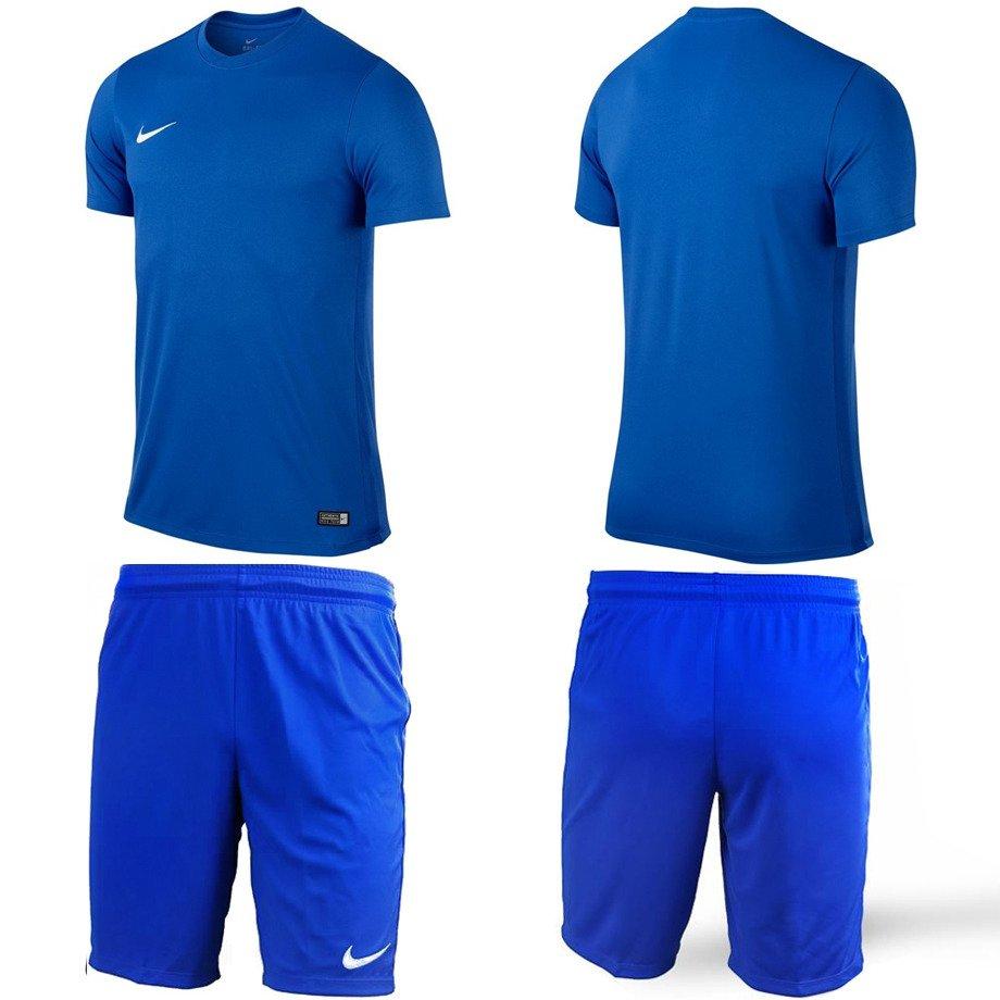 fbe67d2ae ... Koszulka Nike Park VI | 725891-463 + Spodenki NIKE PARK II | 725887- ...