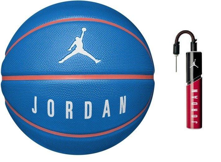 94821eceeb8018 ... Piłka do koszykówki Air Jordan Playground 8P + Pompka Air Jordan  Essential ...