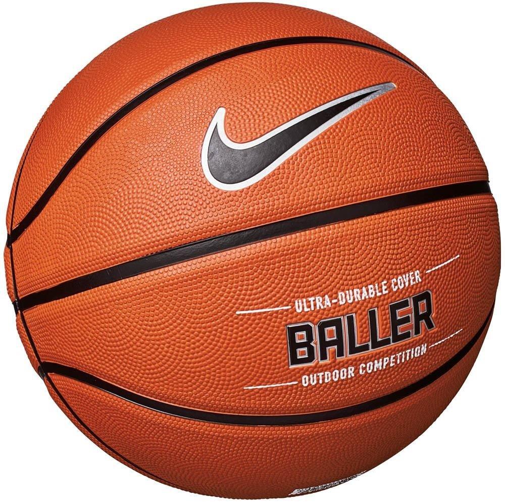 94cb8c2e2b5267 Piłka do koszykówki Nike Baller 8P - NKI3285507-855 - Basketo.pl