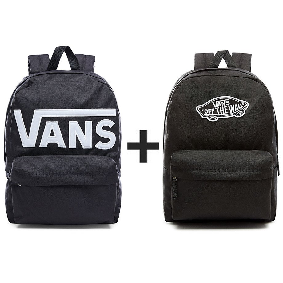 special section low priced factory authentic Plecak VANS Old Skool II - VN000ONIY28-813 + Plecak VANS Realm Backpack -  VN0A3UI6BLK