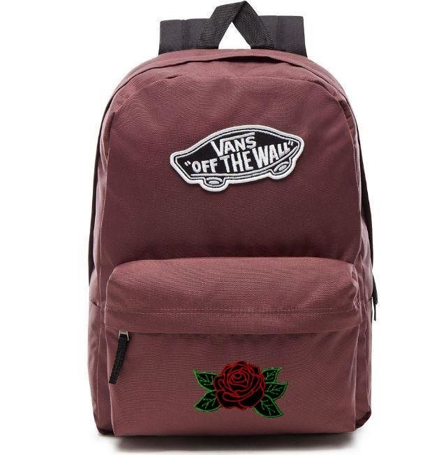 e3c157188f21c Plecak VANS Realm Backpack Custom Black Rose - VN0A3UI6ALI - Basketo.pl