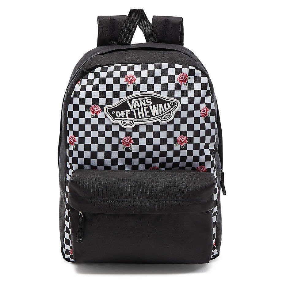 7023c90cd6 Plecak VANS Realm Backpack Rose Checker - VN0A3UI6YFK 447 - Basketo.pl