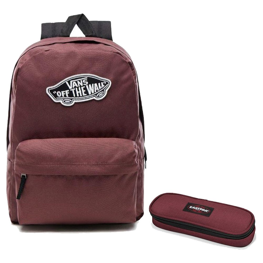 72eeb62865b47 ... bordowy Crafty Wine; Plecak VANS Realm Backpack + piórnik Eastpak Oval  S ...