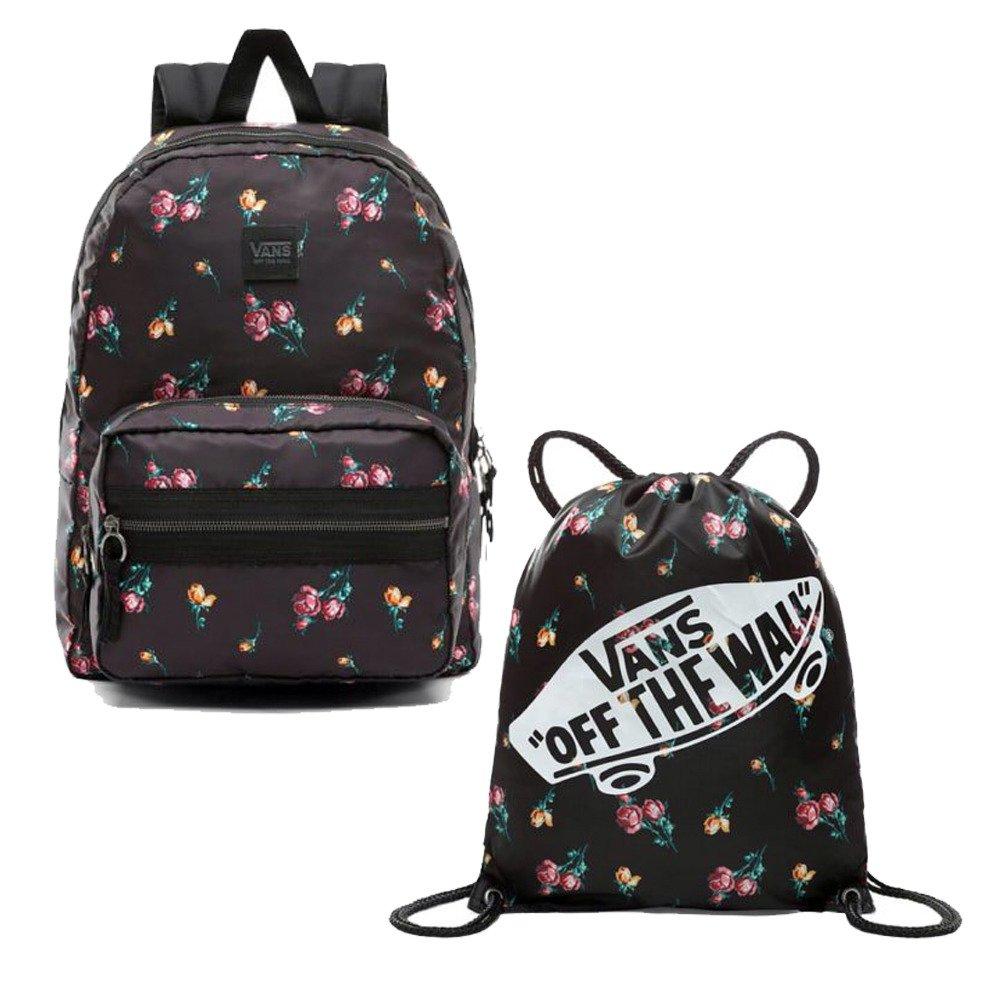 d46b985448599 ... Plecak Vans Distinction II + Worek Torba Vans Benched Bag Satin Floral  ...