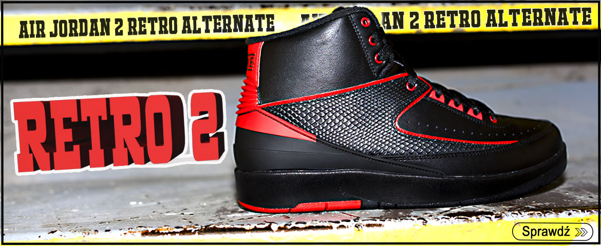 Air Jordan 2 Retro Alternate - 834274-001