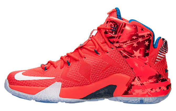 "Nike LeBron 12 ""Independance Day"" - 684593-616"
