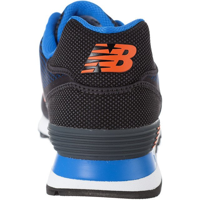 new balance ml574 ala black orange