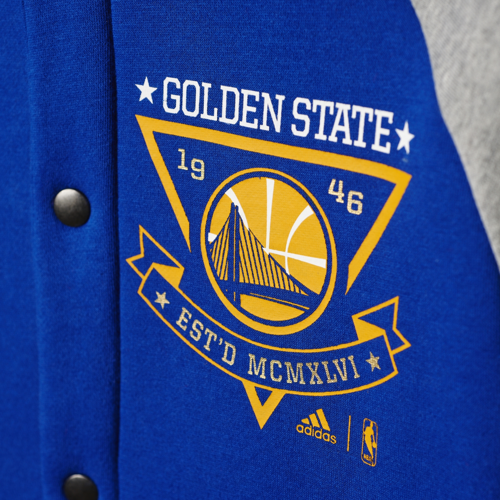 Bluza Adidas NBA Golden State Warriors Washed - AX7674