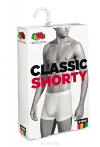 Bokserki Fruit of the Loom Classic Shorty Light - 2 pary 670207 36