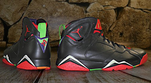 Buty Nike Air Jordan 7 Retro Marvin The Martian - 304775-029