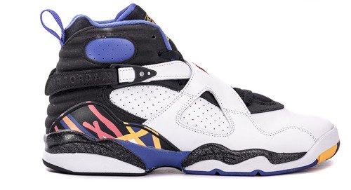 Buty Nike Air Jordan 8 Retro BG -  305368-142