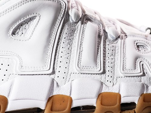Buty Nike Air More Uptempo White Gum  - 414962-103