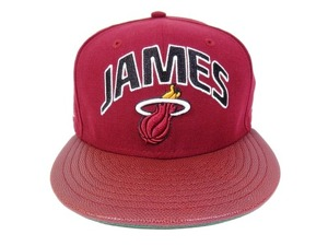 Czapka Fullcap NEW ERA Miami Heat 6 Lebron James