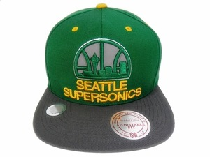 Czapka Mitchell & Ness Seattle Supersonics - mn-nba-nt94z-seasup-gre-os