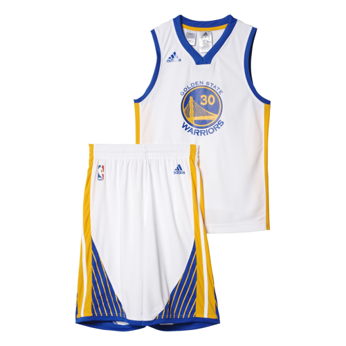 Komplet dziecięcy Adidas Golden State Warriors S. Curry  - AY1550