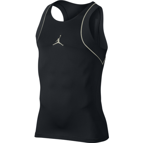 Koszulka AIR JORDAN Ultimate Flight Stay Cool Compresion 2.0 Tank Black Gold - 724785-011