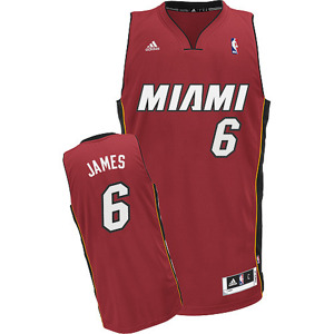 Koszulka Adidas LeBron James Miami Heat NBA Swingman - L71712