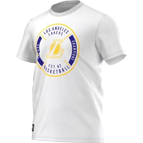 Koszulka Adidas WSHD TEE 1 Los Angeles Lakers - AJ1914