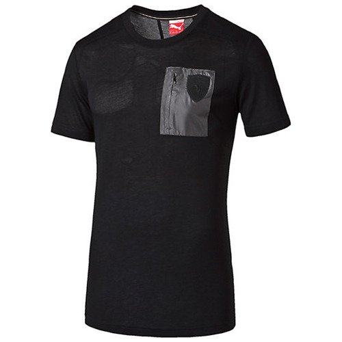 Koszulka Puma  Ferrari Small Shield Tee moonl - 569357-01