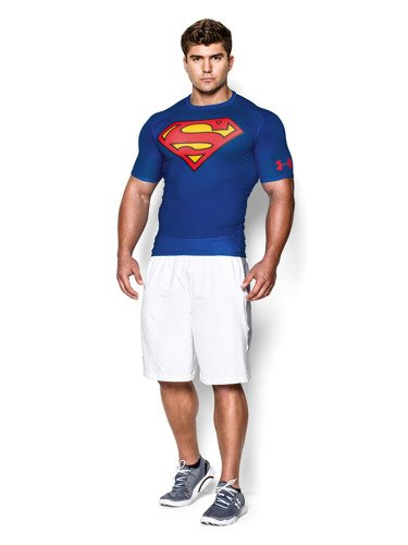 Koszulka Under Armour Alter Ego Superman Compression T-Shirt - 1244399-401
