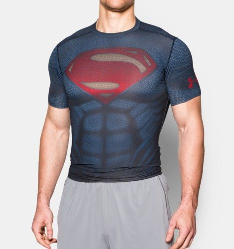Koszulka Under Armour Superman Suit - 1273689-410