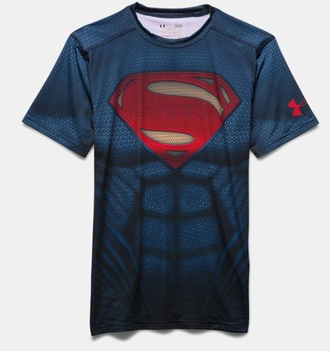 Koszulka Under Armour Superman Suit SS 1273689-410