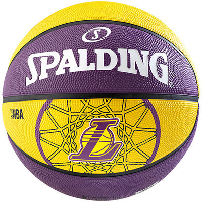 Piłka Spalding Teamball NBA Los Angeles Lakers 2015