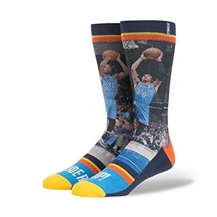 Skarpety Stance NBA Legends Kevin Durant / Russell Westbrook Oklahoma City Thunder - M528D15TUP