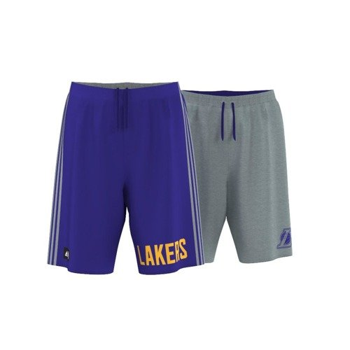 Spodenki dwustronne ADIDAS LOS ANGELES LAKERS