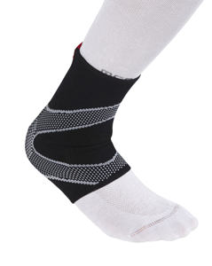 Stabilizator kostki McDavid Ankle Sleeve 4-Way Elastic w/ Gel buttresses