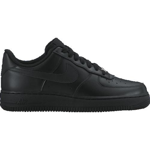san francisco c666c 3dc5e Buty Nike Wmns Air Force 1 Low Black - 315115-038 - Basketo.pl