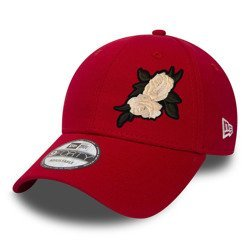 Czapka New Era 9FORTY Flag Red Custom White Rose - 11179830