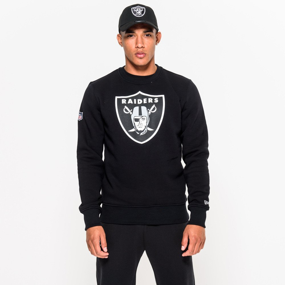 Bluza New Era Team Logo Oakland Raiders Crew Neck 11073792