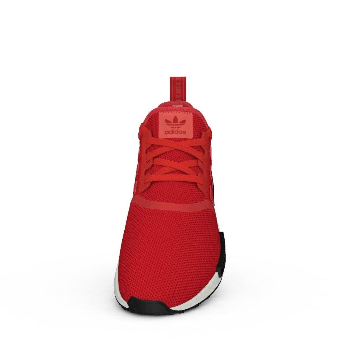 buty adidas originals nmd runner w maroon