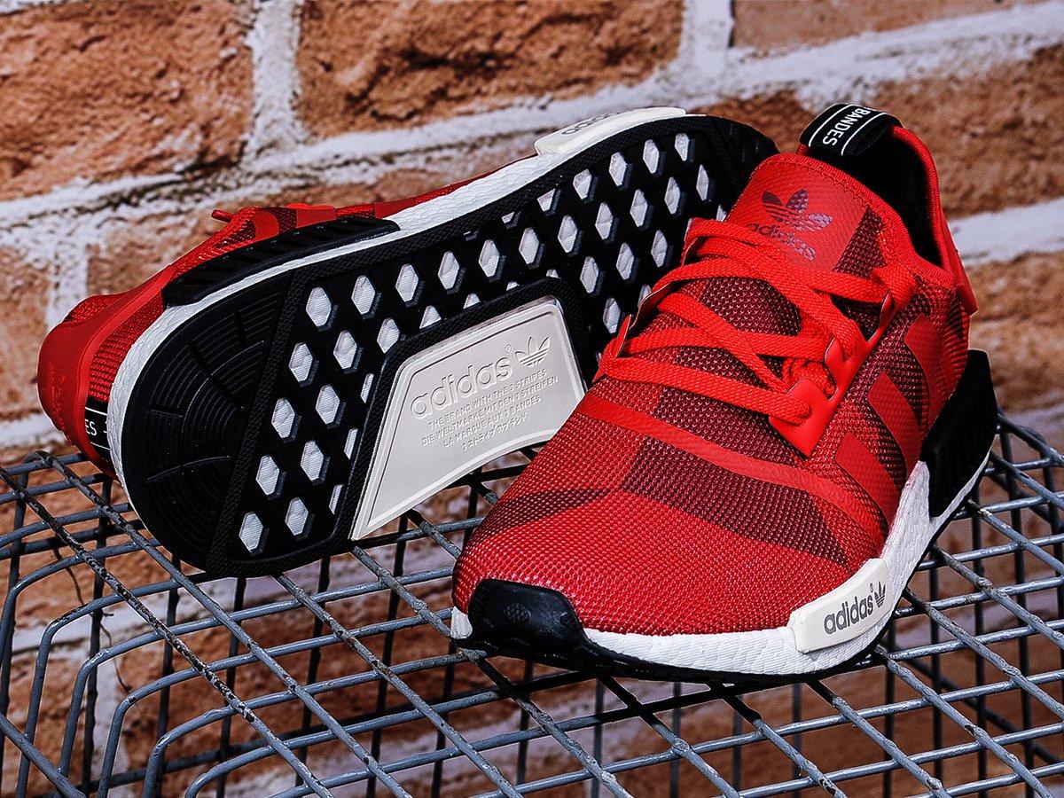 wholesale dealer 61c3c faf72 ... Buty Adidas NMD R1 Red Geometric Camo - S79164 ...