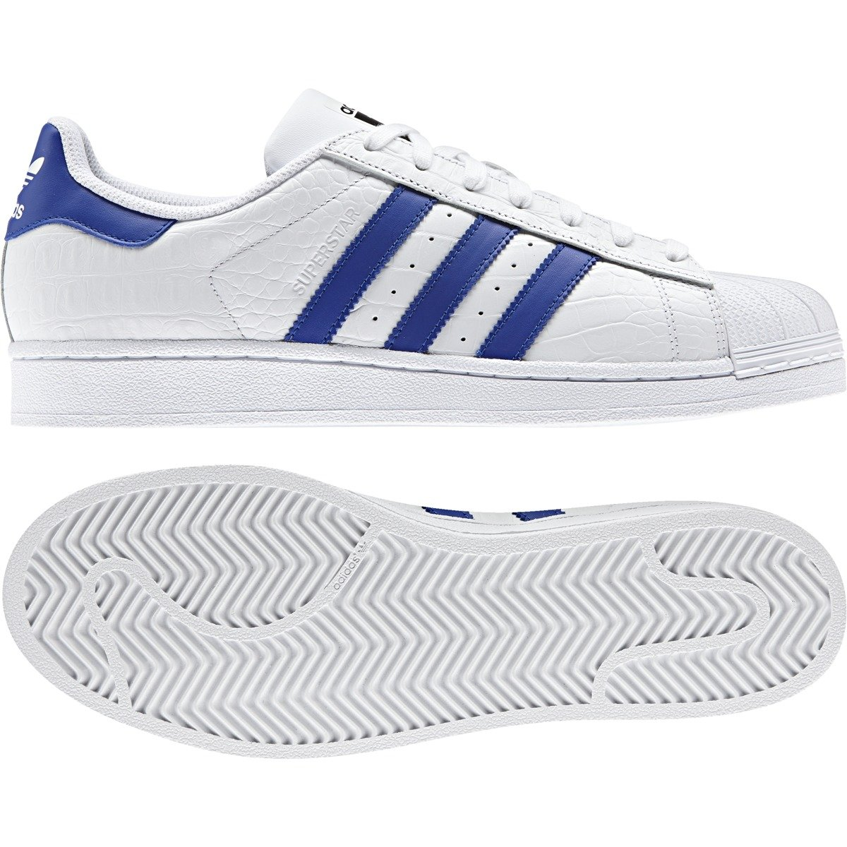 buty adidas superstar bold blue