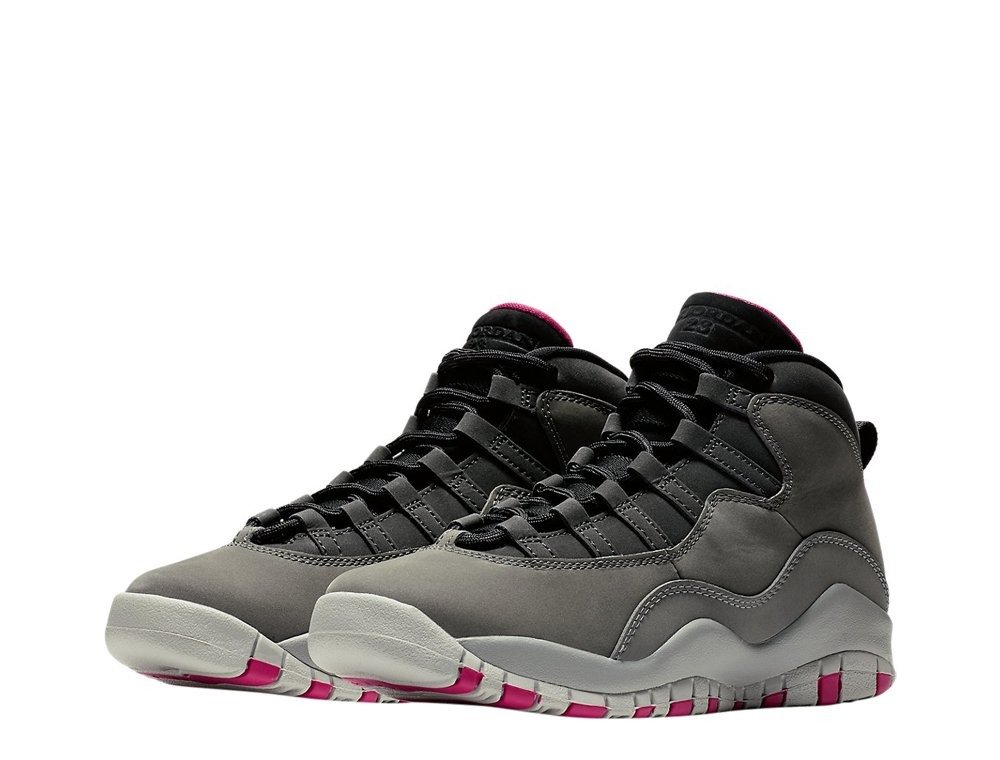air jordan 10 retro gs smoke grey 487211-006