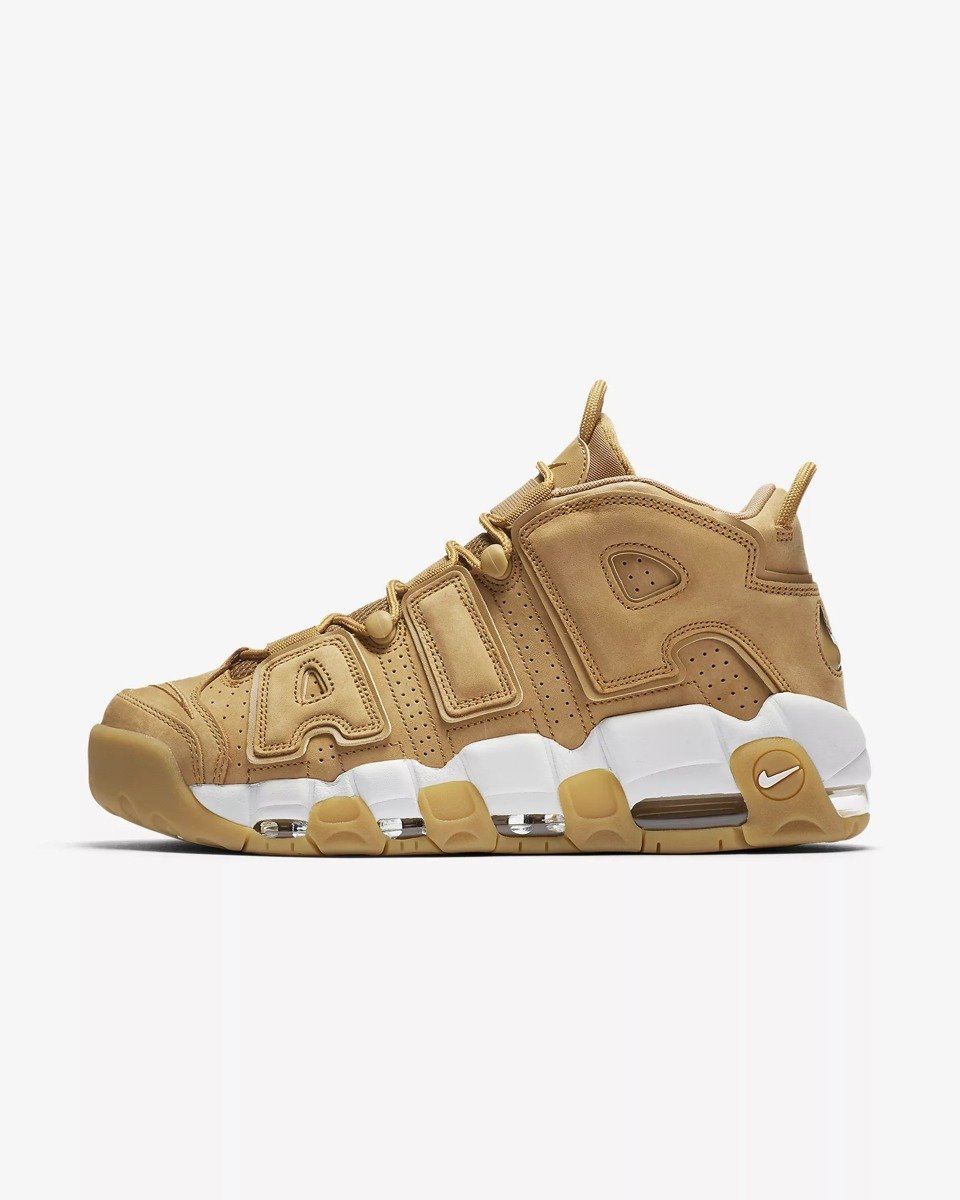 new style 22cf0 e62cf ... Buty Nike Air More Uptempo 96 Premium Flax - AA4060-200 ...