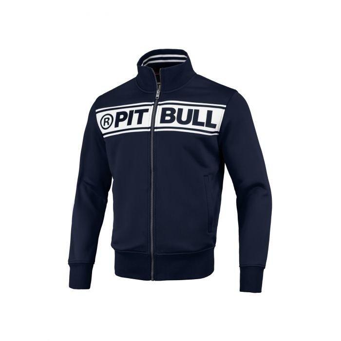 Dresy Bluza Spodnie Pit Bull West Coast Oldschool Track Logo Navy