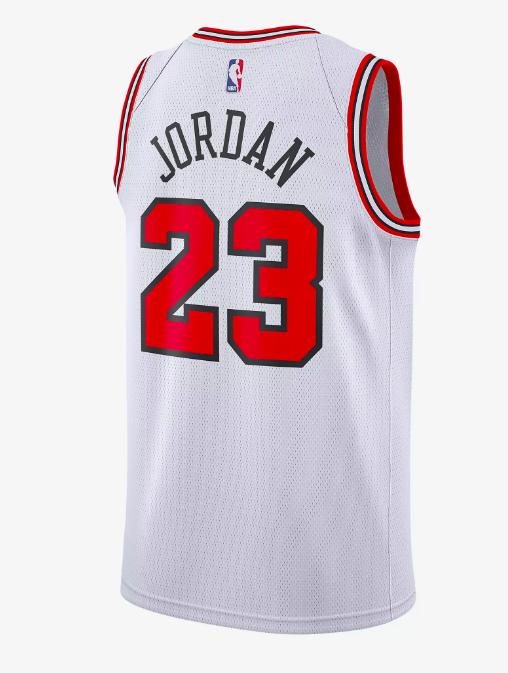 Koszulka Michael Jordan Association Edition Swingman Jersey Chicago Bulls  NBA white 930702745