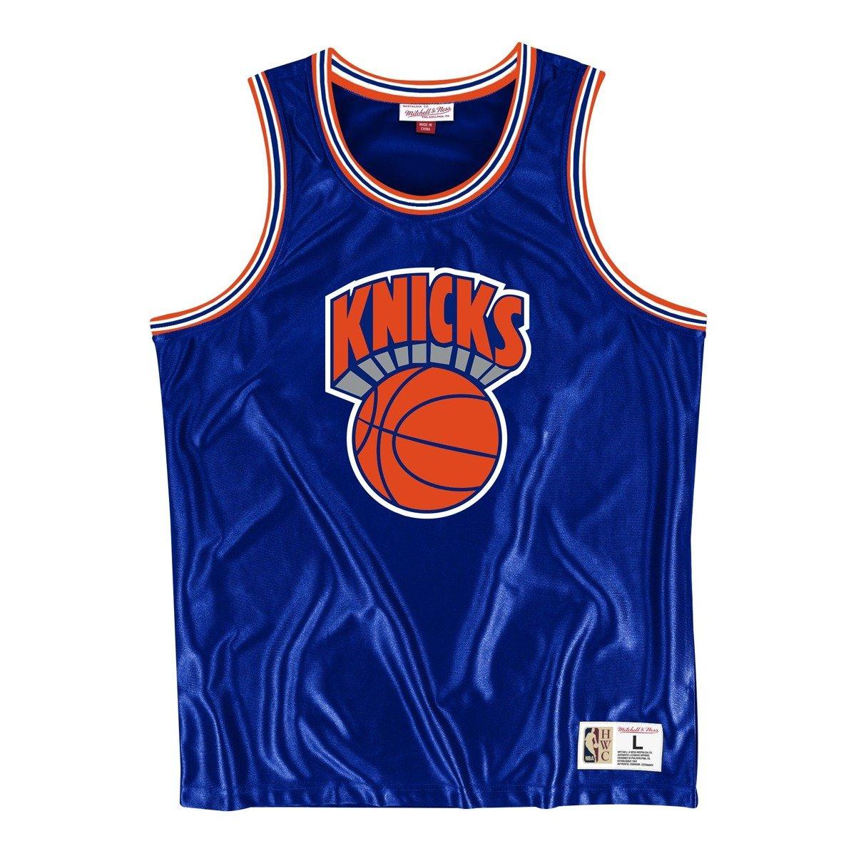 Koszulka Mitchell & Ness NBA New York Knicks Dazzle Tank Top MSTKDF18015 NYKROYA1