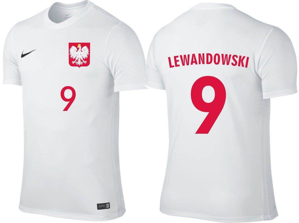 Koszulka reprezentacji POLSKI NIKE Lewandowski, M