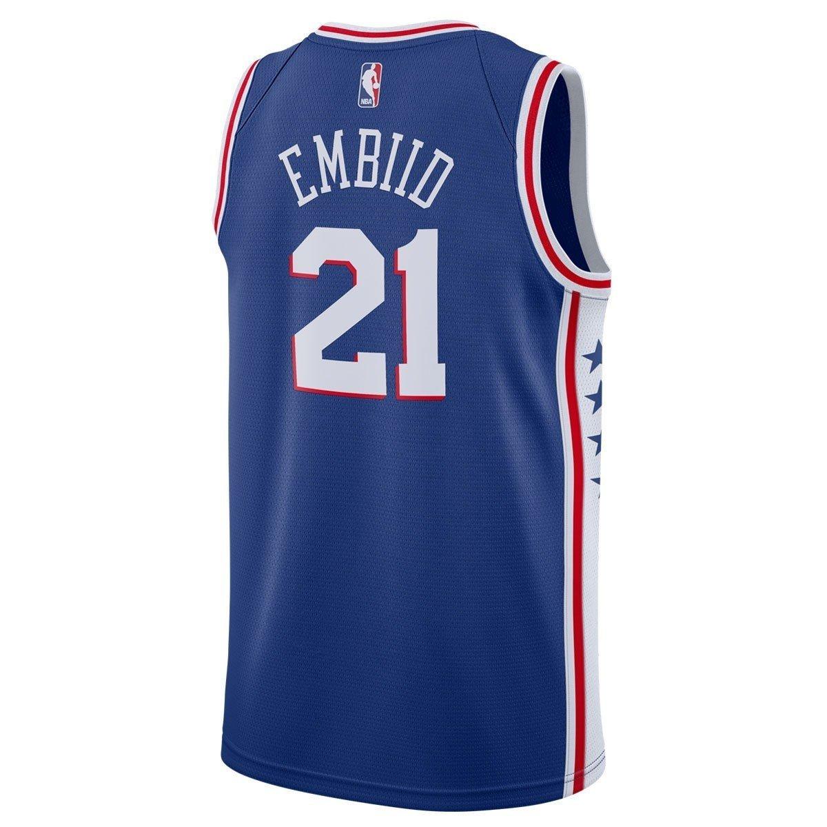 Koszulka młodzieżowa Nike NBA Philadelphia 76ers Joel Embiid Jersey