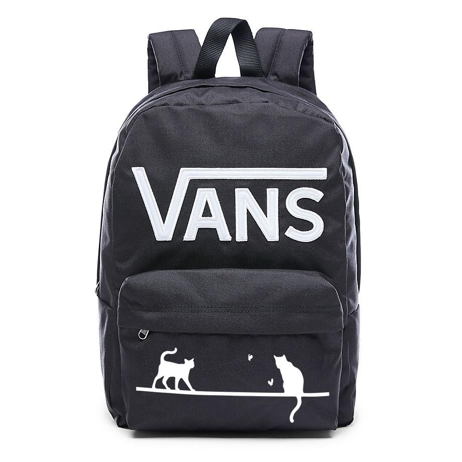 Plecak VANS New Skool Custom Cats VN0002TLY28