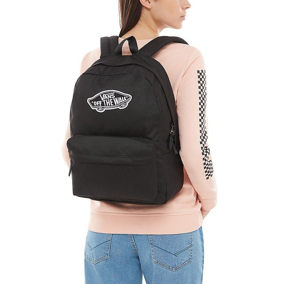 Plecak VANS Realm Backpack + naklejka VN0A3UI6BLK
