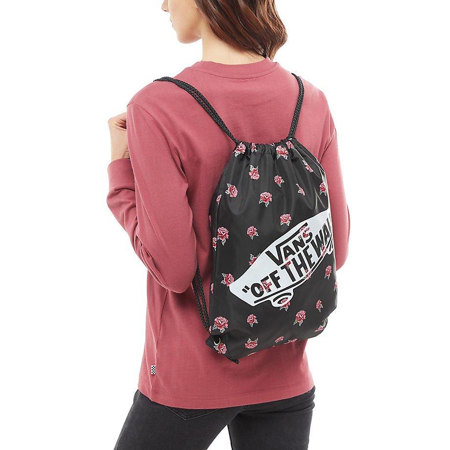 873375d82b9d4 ... Plecak VANS Realm Black & Rose Backpack - VN0A3UI6RDU + Worek szkolny  ...