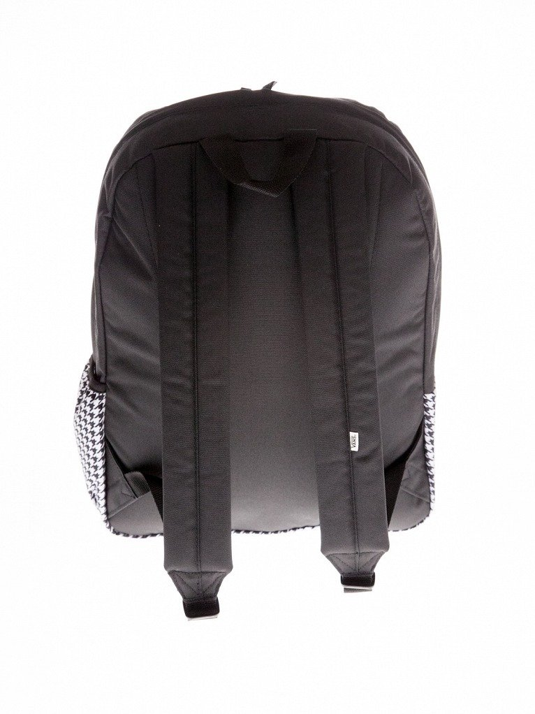 26b685b73788d ... Plecak VANS Realm Flying V Backpack - Houndstooth Black/White + Worek  czarny z białym ...