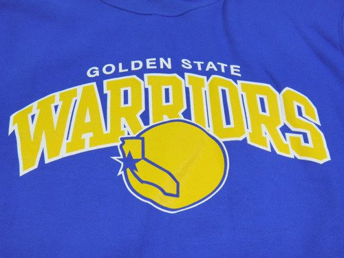 Bluza Mitchell & Ness Golden State Warriors NBA Team Arch Crew - MN-NBA-TMARCHCREW-GOLWAR